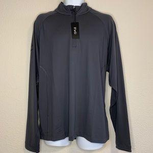 Fairway & Greene Men's 1/4 Zip Pullover Top